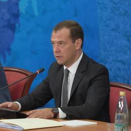 Премьер-министр Дмитрий МЕДВЕДЕВ. Фото пресс-службы Правительства РФ