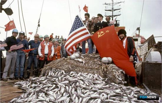 За годы совместного промысла организация освоила 1,5 млн. тонн рыбы. Фото из архива MRCI.