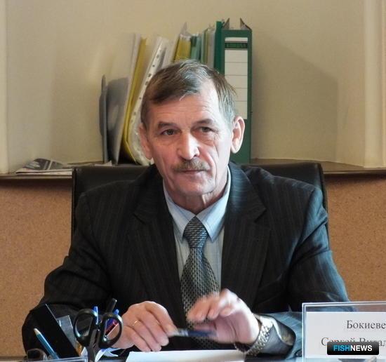 Заместитель руководителя Приморского территориального управления Росрыболовства Сергей БОКИЕВЕЦ
