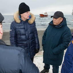 Губернатор Олег Кожемяко держит ситуацию на личном контроле. Фото пресс-службы правительства Сахалинской области