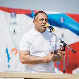 Двукратный олимпийской чемпион по боксу Олег САИТОВ. Фото пресс-службы фонда «Родные острова»