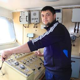 Старший помощник капитана СТР «Экарма-3» Андрей СУЧКОВ