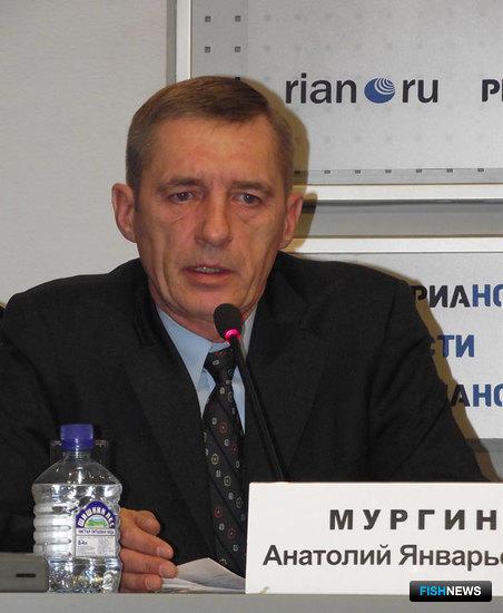 Председатель Ассоциации лососевых рыбоводных заводов Сахалинской области Анатолий Мургин