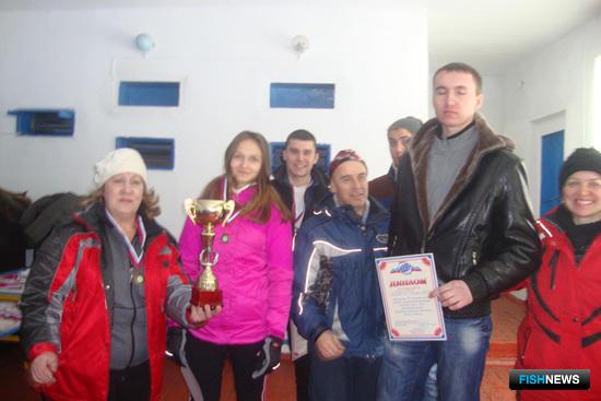 Бронзовые призеры спартакиады – команда Дальрыбвтуза