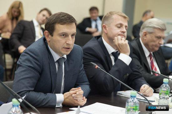 Начальник управления организации рыболовства ФАР Андрей ГОРНИЧНЫХ