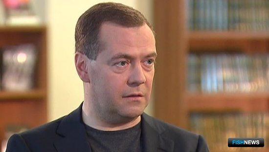 Председатель Правительства Дмитрий МЕДВЕДЕВ. Фото – скриншот с передачи «Вести в субботу» телеканала «Россия-1»