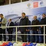 Траулер «Баренцево море» для АТФ заложили на Выборгском судостроительном заводе. Фото пресс-службы Росрыболовства