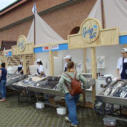 В Санкт-Петербурге проходит фестиваль «Рыбная неделя»