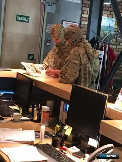 25 марта руководство «Доброфлота» сообщило об оперативно-разыскных мероприятиях в головном офисе группы компаний. Фото предоставлено ГК «Доброфлот»