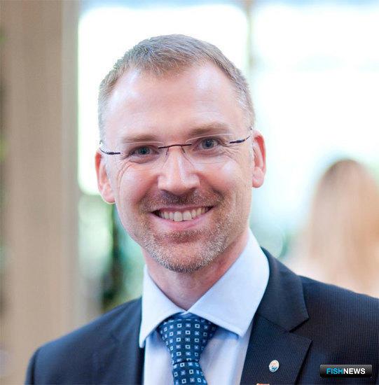 Директор Норвежского комитета по рыбе в России Ян Эйрик ЙОНСЕН