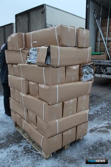 Общий вес обнаруженного «кофе» составил 41 тонну. Фото пресс-службы Северо-Западного таможенного управления