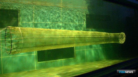 Продувка 1000-тонного мешка в гидролотке