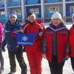 Лыжники Дальрыбвтуза в полной спортивной готовности