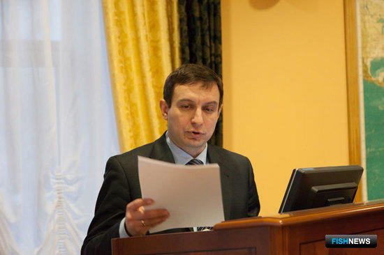 Начальник управления организации рыболовства Росрыболовства Андрей Горничных