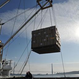 Во Владивосток прибыла первая партия консервов с возрожденного рыбокомбината «Островной» на Шикотане