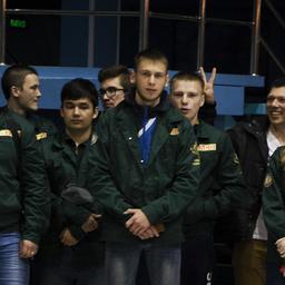 Студенческий отряд Дальрыбвтуза «Голубой меридиан» выехал на красную путину. Фото информационно-аналитического отдела университета