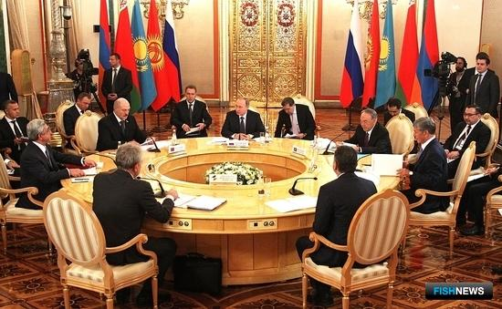 Главы государств ЕАЭС утвердили новый состав Коллегии Евразийской экономической комиссии. Фото пресс-службы ЕЭК.