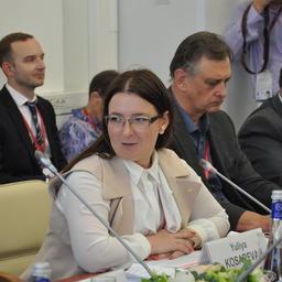 Директор департамента привлечения частных инвестиций Минвостокразвития Юлия КОСАРЕВА