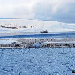 Обледенение судов на акваториях дальневосточных морей