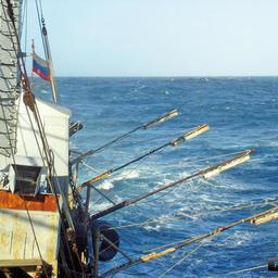 Российское судно на промысле сайры