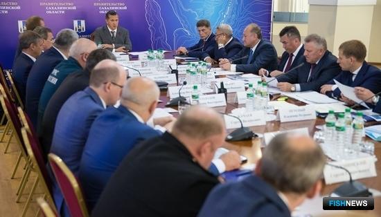 Заседание Совета при полномочном представителе президента в ДФО. Фото пресс-службы правительства Камчатского края