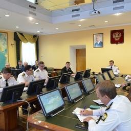 Оперативное совещание в Росрыболовстве. Фото пресс-службы ФАР