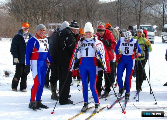 К старту готовится золотой призер Наталья СЕМЕНОВА (ОАО «ПБТФ»)
