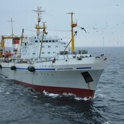 В ноябре РКТ-С «Капитан Демидюк» приступил к выпуску консервов из печени минтая. Фото пресс-службы ПБТФ