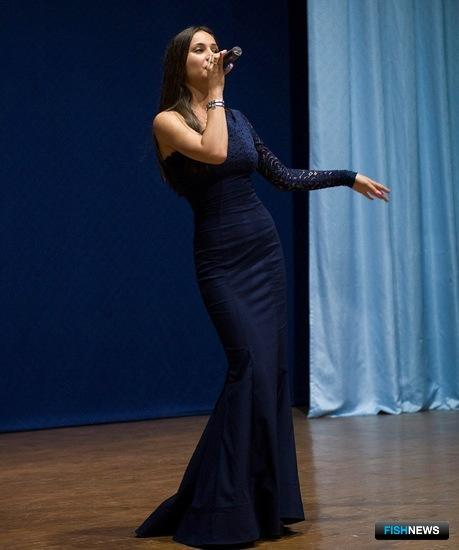 Солистка вокальной студии «Соло» Анастасия Марухина. Фото пресс-службы университета