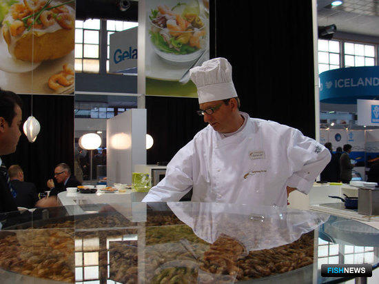 The European Seafood Exposition, Брюссель, май 2011 г.