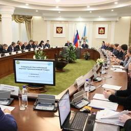 Заседание Северного научно-промыслового совета прошло в Архангельске. Фото пресс-службы губернатора и правительства региона