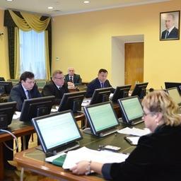 Первое заседание штаба охотоморской путины. Фото пресс-службы Росрыболовства
