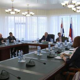 Министр юстиции РФ Александр КОНОВАЛОВ провел совещание на Камчатке. Фото пресс-службы правительства региона