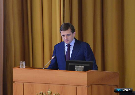 Руководитель Росрыболовства Илья ШЕСТАКОВ на совещании в Минсельхозе