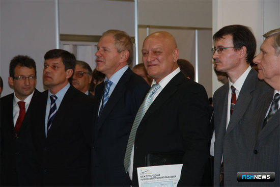 Открытие Международной рыбохозяйственной выставки InterFISH
