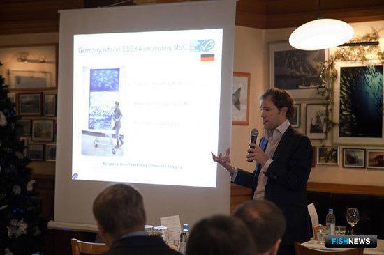 Директор по региону Европы MSC Камиль ДЕРИКС представляет Морской попечительский совет