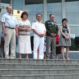 С добрыми напутствиями к бойцам обратились представители Дальрыбвтуза, городской администрации и Приморского регионального отделения «Российских студенческих отрядов»