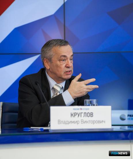 Председатель Росрыбпрофсоюза Владимир КРУГЛОВ