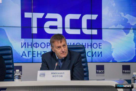 Генеральный директор магаданской компании «Тихрыбком» Михаил КОТОВ
