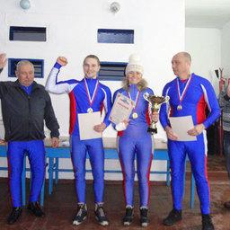 Победитель в эстфетных гонках – команда ПБТФ