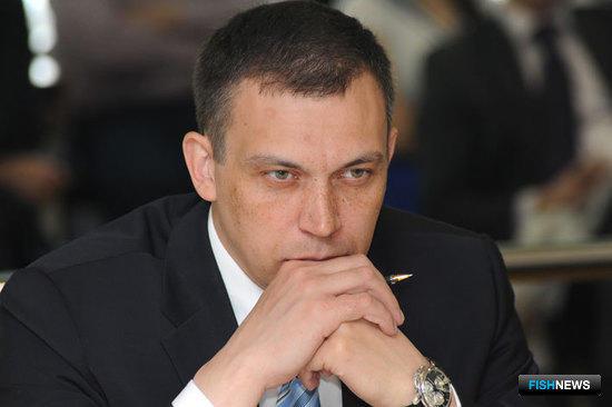 Министр рыбного хозяйства Камчатки Владимир ГАЛИЦЫН