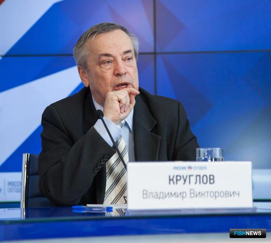 Председатель Российского профсоюза работников рыбного хозяйства Владимир КРУГЛОВ