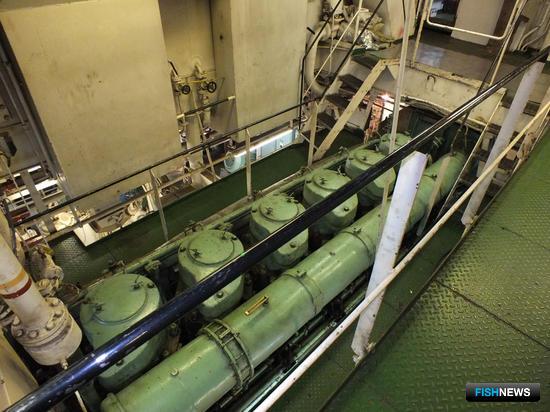 Один из двух главных двигателей «Сибирского»