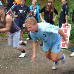 Стартуют легкоатлеты Дальрыбы и Дальневосточного мореходного училища