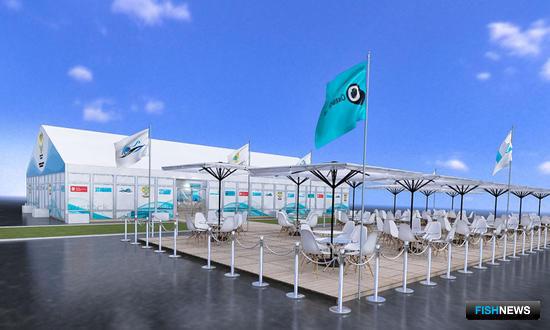 Так будет выглядеть «Русский рыбный дом» на Восточном экономическом форуме во Владивостоке