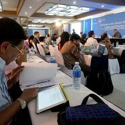 Семинар Азиатско-Тихоокеанского экономического сотрудничества (АТЭС) по вопросам изменения климата, влияющего на рыболовство и ресурсы Мирового океана. Фото пресс-службы Росрыболовства