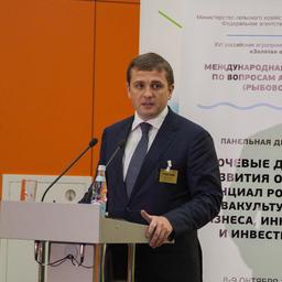 Заместитель министра сельского хозяйства РФ - руководитель Федерального агентства по рыболовству Илья ШЕСТАКОВ