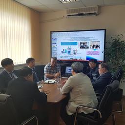 Уже после окончания ВЭФ переговоры с корейскими партнерами прошли в офисе «Дальневосточного аукционного рыбного дома»