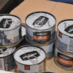 Продукт, произведенный прямо в море из свежей рыбы, под торговой маркой «Доброфлот» идет на столы россиян