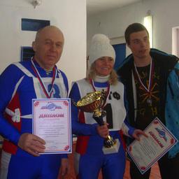 «Серебряная» команда – лыжники Преображенской базы тралового флота
